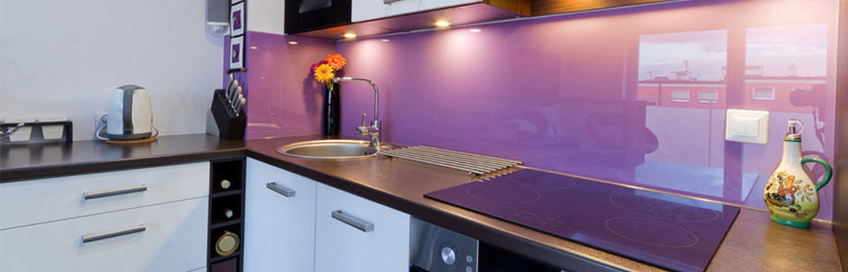 Bespoke Glass Splashbacks / Coloured Splashbacks