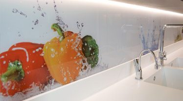 Food Acrylic Splashback