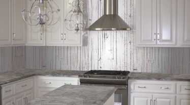 Textured Kitchen Splashback